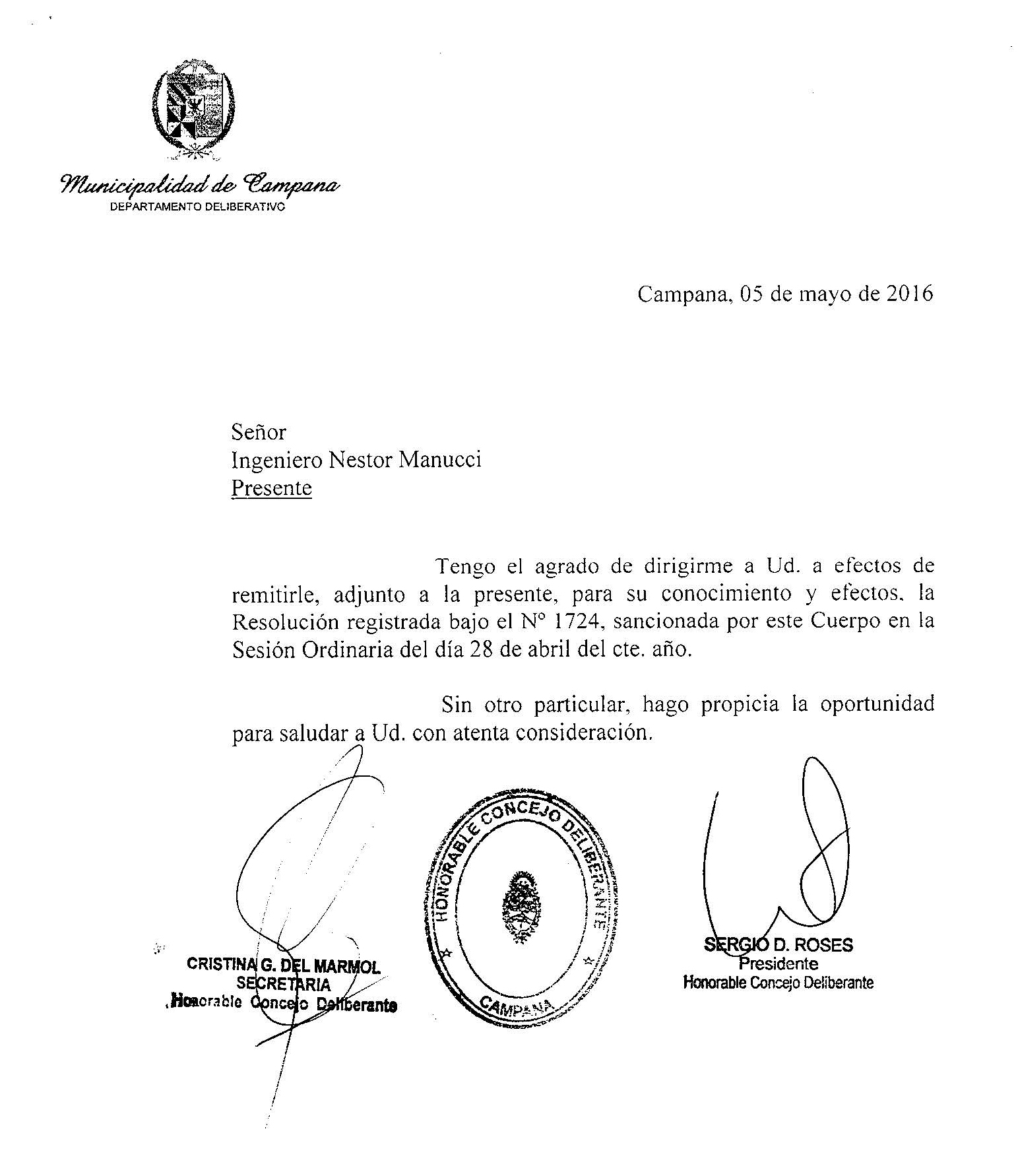 Interés Legislativo Proyecto de Microenergias Ciudad de Campana 3